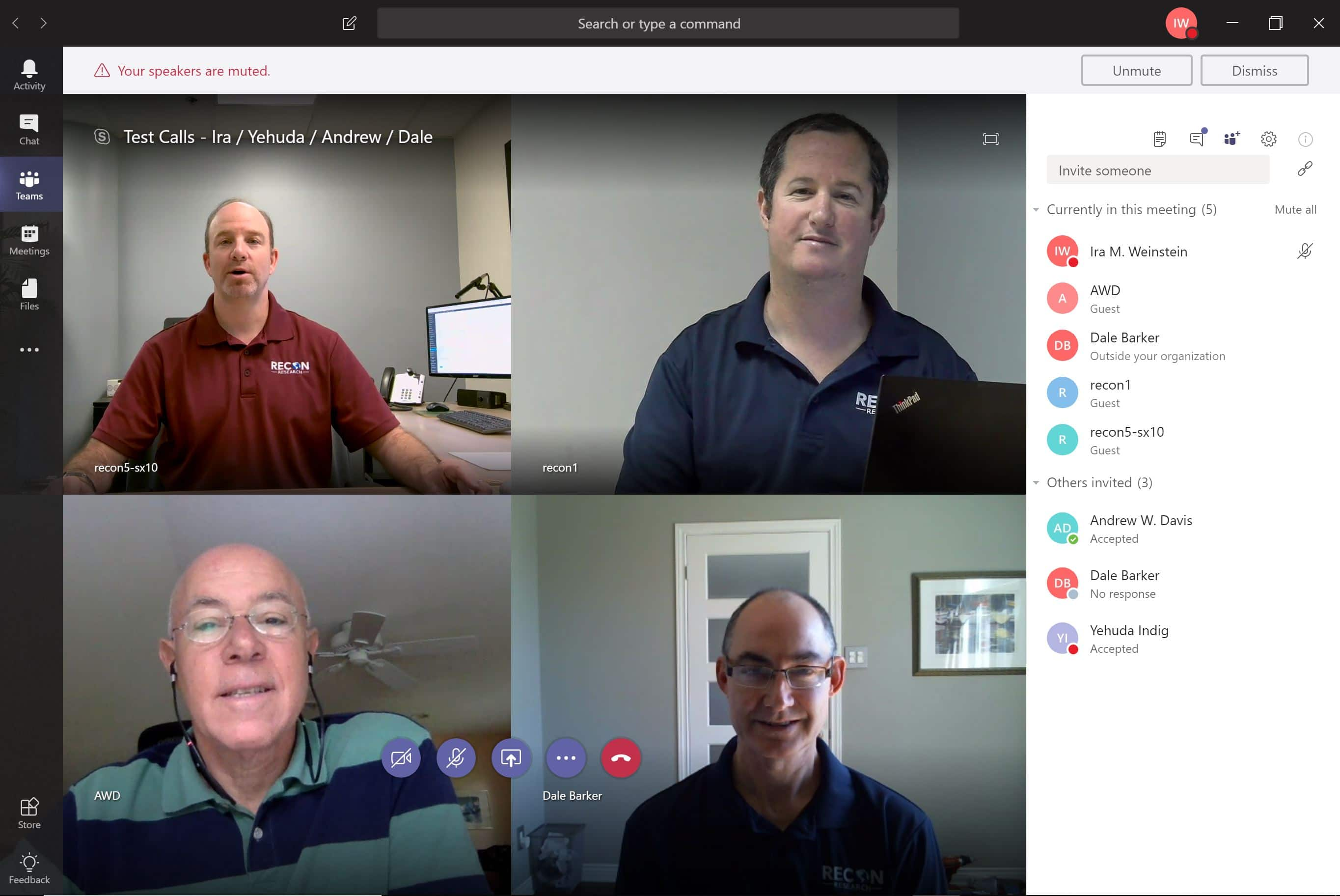 Evaluation – Polycom RealConnect for Microsoft Teams