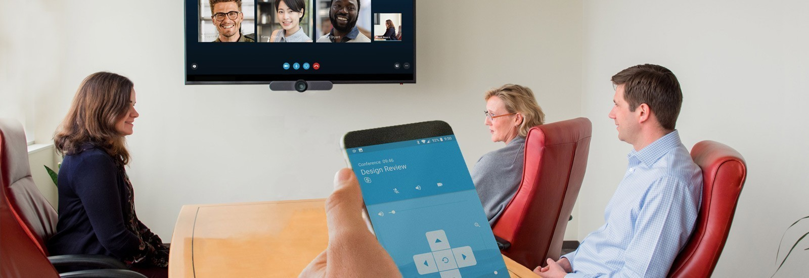 Burlington Startup ZiipRoom Launches Software to Simplify Remote Meetings