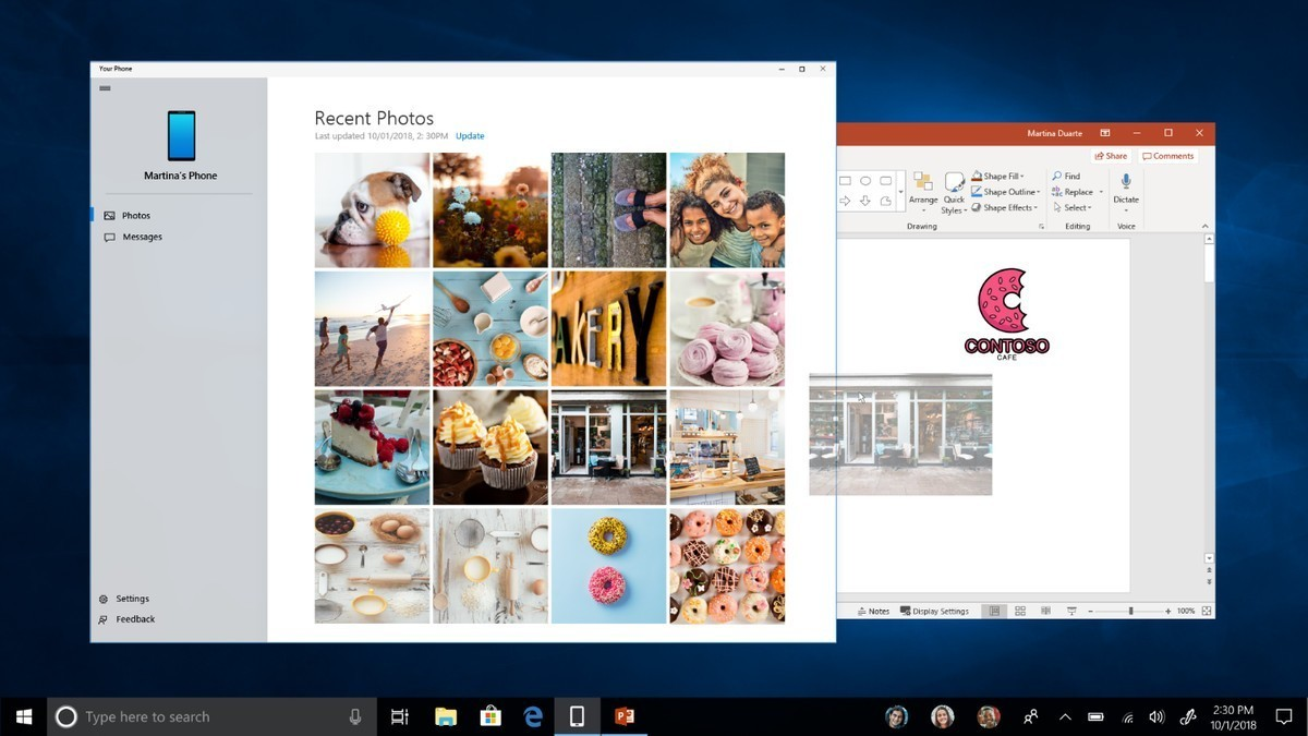 Microsoft announces app mirroring to let you use any Android app on Windows 10