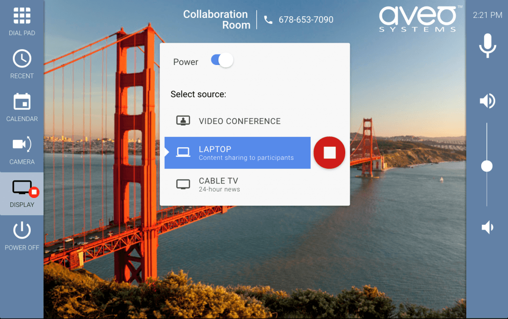 Aveo Systems Expands Mira Connect Capabilities for Collaboration Product Control