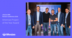 Lifesize Recognizes AVI Systems with 'Project of the Year' Award