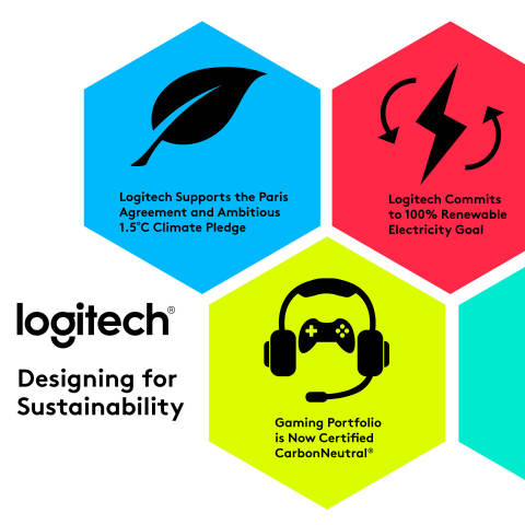 Logitech Commits to Ambitious 1.5°C Climate Pledge and 100% Renewable Electricity Goal