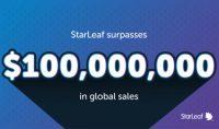 StarLeaf surpasses $100 million in global sales