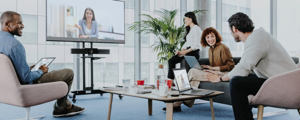 ClickShare Conference makes remote meeting and conferencing a safe experience
