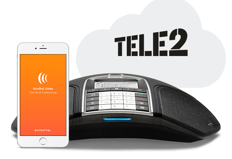 Konftel 300IPx validated for Tele2's cloud PBX – paving the way for growth