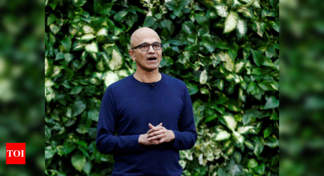 Satya Nadella: Permanent work from home damaging for workers' well-being | India Business News - Times of India