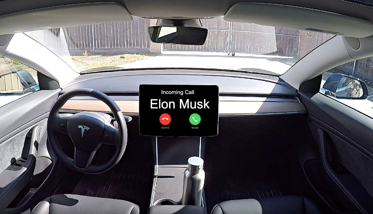 Tesla in-car video conferencing is a feature Elon Musk stands behind