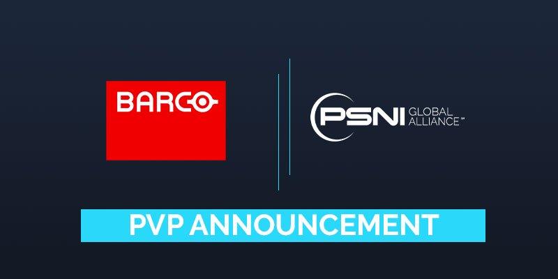 PSNI Global Alliance Adds Barco as North American Preferred Vendor Partner