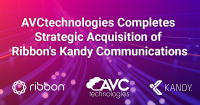 AVCtechnologies Completes Strategic Acquisition of Ribbon's Kandy Communications
