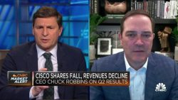Cisco wants to use 3D so Webex meeting participants feel like they're in the room, CEO says