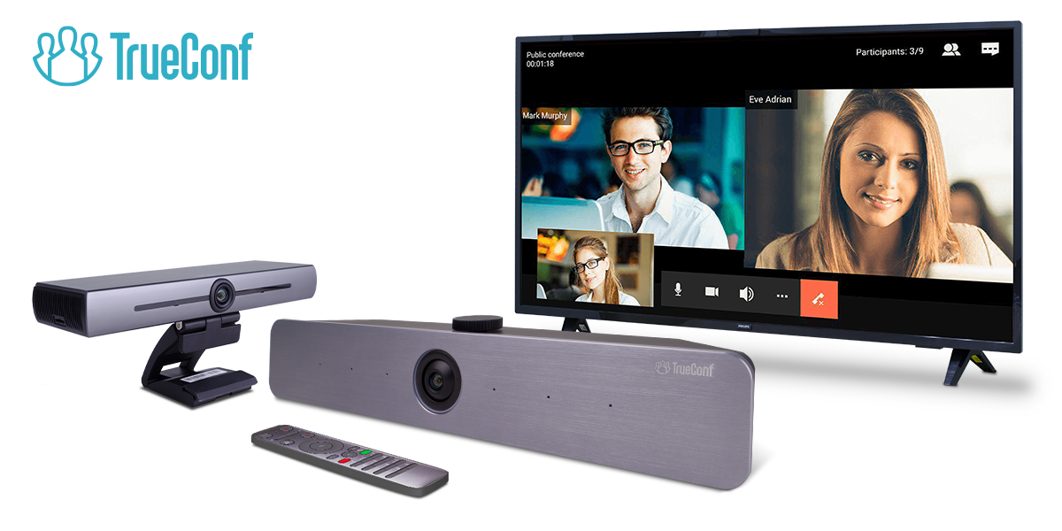TrueConf Introduces Videobars for Huddle Rooms