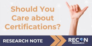 Should You Care About Certifications?