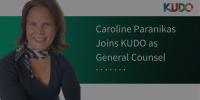 KUDO NAMES CAROLINE PARANIKAS GENERAL COUNSEL