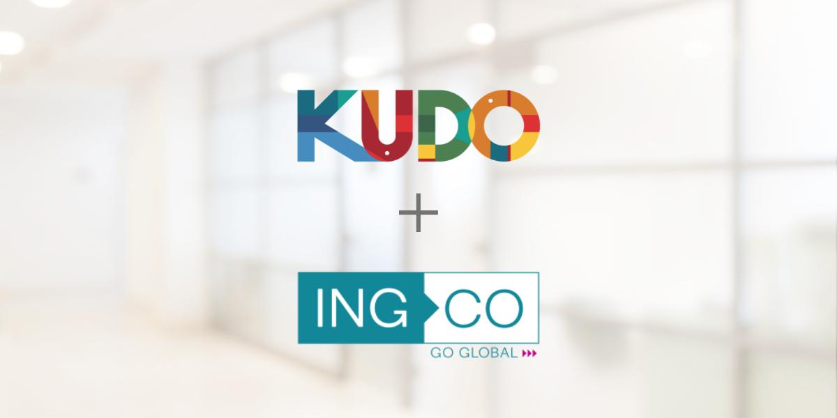 KUDO Announces New Partnership with INGCO International