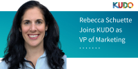 KUDO Announces the Appointment of Rebecca Schuette to Executive Team as VP of Marketing