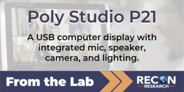 From the Lab – Poly Studio P21